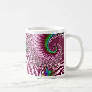 Sprial Mohawk Classic White Coffee Mug