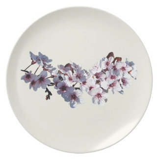 Sprig of Cherry Blossoms Plate