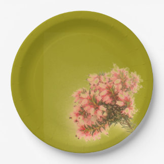 Sprig of Heather Paper Plate