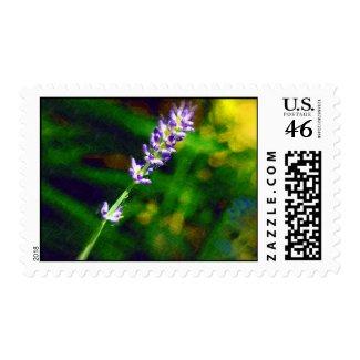 Sprig of Lavender Stamp
