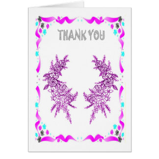 Sprigs of heather card