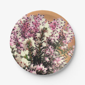 Sprigs of Heather Paper Plate