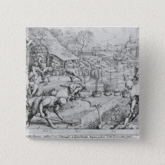 Spring, 1565 button