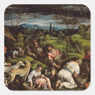 Spring, 1576 square sticker