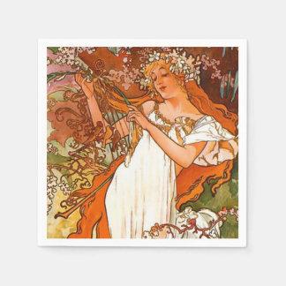 Spring 1896 napkin
