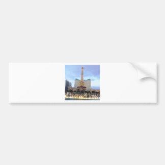 Spring 2014 Las Vegas CherryHILL NJ USA Skyline Car Bumper Sticker