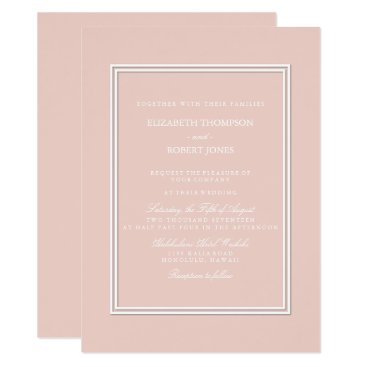 Beach Themed Spring 2017 Designer Colors Pale Pink Dogwood Card