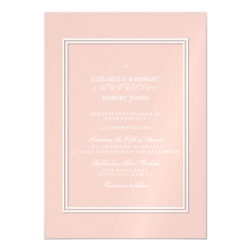 Beach Themed Spring 2017 Designer Colors Pale Pink Dogwood Magnetic Card