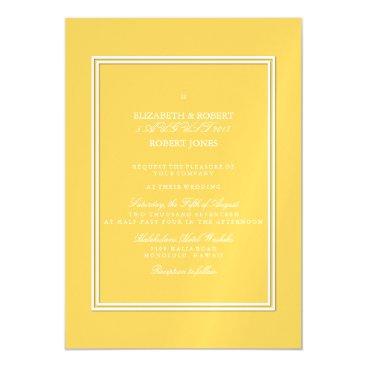 Beach Themed Spring 2017 Designer Colors Primrose Yellow Magnetic Card