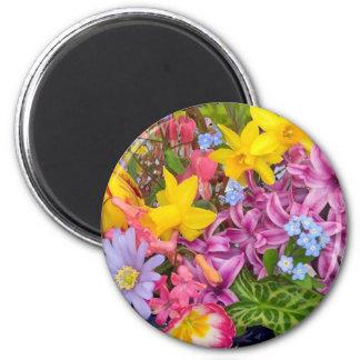 spring 2 inch round magnet