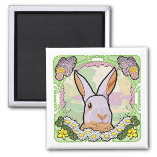 SPRING 2 INCH SQUARE MAGNET