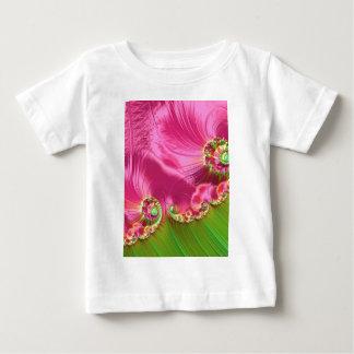 spring-320310 BEAUTIFUL FRACTAL DIGITAL ART BACKGR Baby T-Shirt