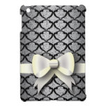 Spring 4 Pattern Black Lace with Bow iPad Mini Cases