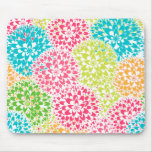 Spring Abstract Flowers Mousepads