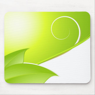 Spring Abstract Mouse Pads