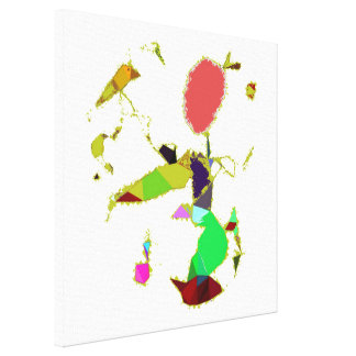 Spring Abstract Surrealism Canvas Print