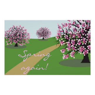 Spring again Poster