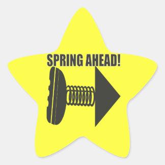 Spring Ahead 2 Star Sticker