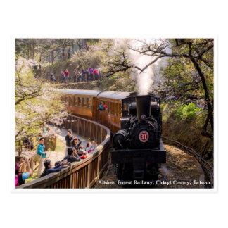 Spring-Alishan Forest Railway, Taiwan Postcard
