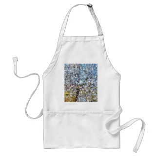 Spring Almond Blossom Adult Apron