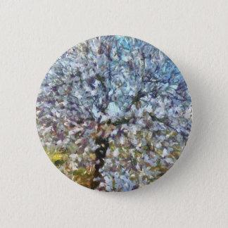 Spring Almond Blossom Button