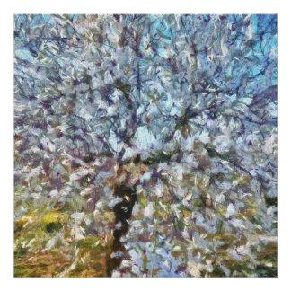 Spring Almond Blossom Poster