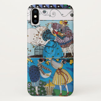 SPRING AND SUMMER / FASHION COSTUME DESIGNER iPhone X CASE