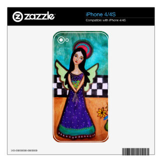 Spring Angel Skin For The iPhone 4S