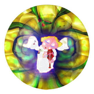 Spring Angel Violine Player Button Covers Pack Of Large Button Covers