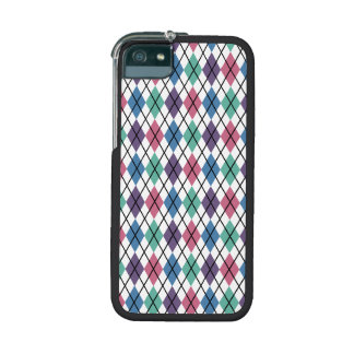 Spring Argyle Pattern iPhone 5/5S Cases