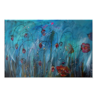 Spring Array of Flowers Poster