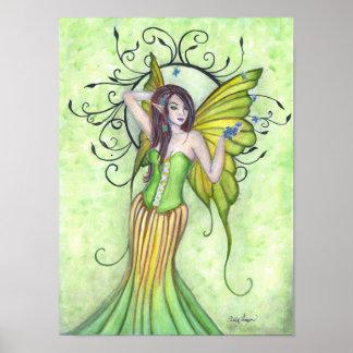 Spring Arrival Fairy Art Print
