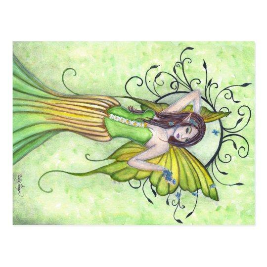 Spring Arrival Fairy Postcard