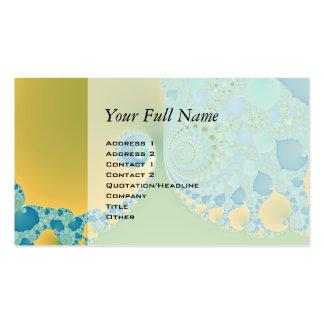 Spring Arrives - Fractal Art Business Card
