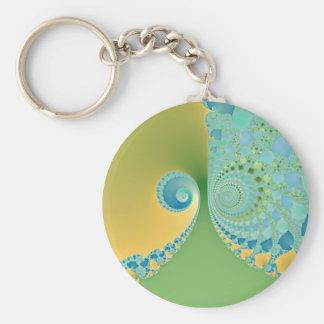 Spring Arrives - Fractal Art Keychains