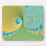 Spring Arrives - Fractal Art Mouse Pad