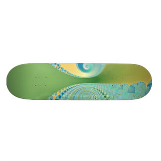 Spring Arrives - Fractal Art Skateboard Deck