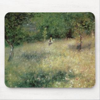 Spring at Chatou, c.1872-5 Mousepad