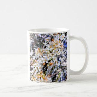 Spring at Last! blossom flowers Classic White Coffee Mug