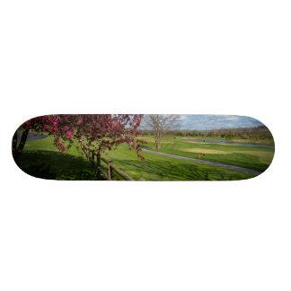 Spring At Rivercut Skateboard