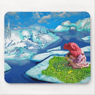 Spring at the north pole mousepad