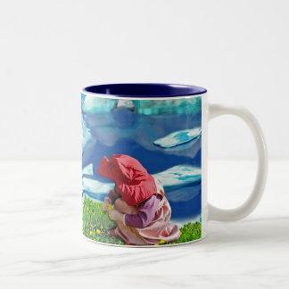 Spring at the north pole mug