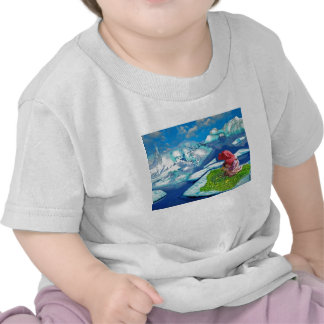 Spring at the north pole t shirt