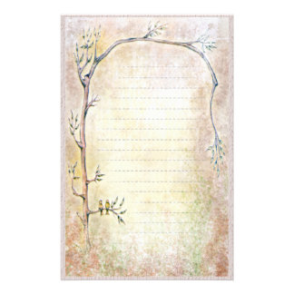 Spring Awakening - Beige Stationery