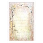 Spring Awakening - Beige Stationery Paper
