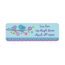 Spring Baby Bird Address Labels