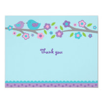 Spring Baby Bird Flat Thank You Note Cards