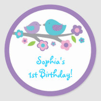 Spring Baby Bird Stickers