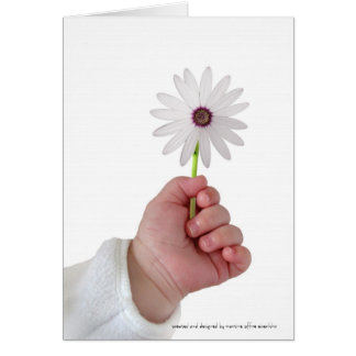 Spring baby card