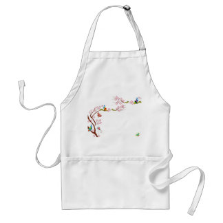 Spring background apron